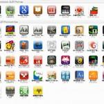 iPhoneのアプリ