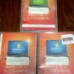 Windows7 DSP版を買ってしまいました!